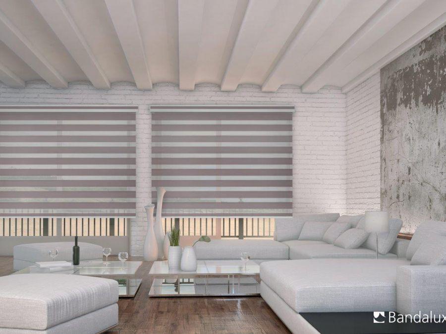 Cortina Neolux sala de estar vivienda particular