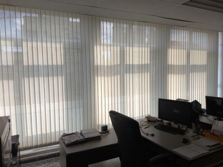 Cortinas verticales cortina t cnica - Cortinas verticales para oficinas ...